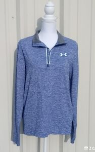 Under Armour Heat Gear Fitted 1/4 Zip Athletic